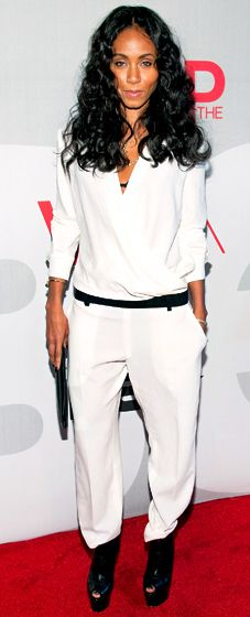 LOVE this look. Jada Pinkett Smith at BET's Rip the Runway on Feb.27,2013