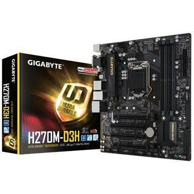 Lga1151 H270 Intel HD Mthbrd