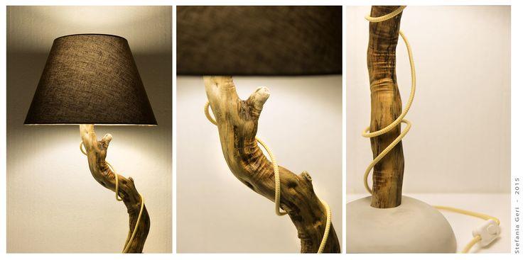 My creation_Desk lamp