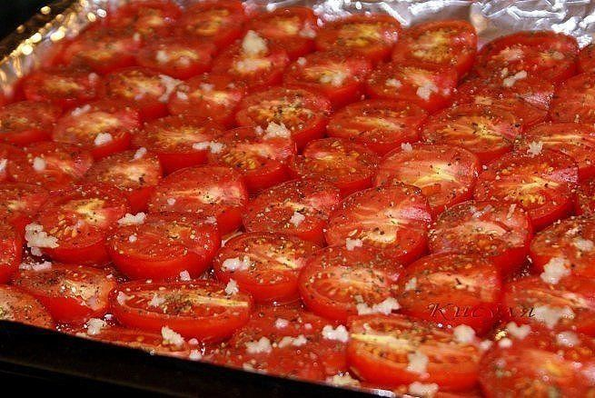 Безумно вкусные вяленые помидоры