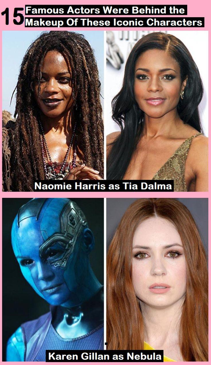 15 Wussten Sie, dass diese berühmten Schauspieler hinter dem Make-up dieser legendären Charaktere stecken?