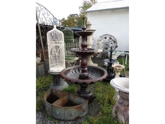 Litinová fontána velká