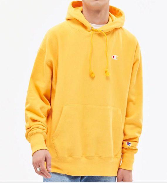 champion sweater pacsun yellow