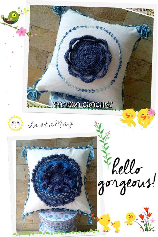 Biru Blue in My Pillow