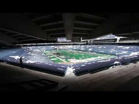 Le Pontiac Silverdome stade abandonné de Detroit [video] - http://www.2tout2rien.fr/le-pontiac-silverdome-stade-abandonne-de-detroit-video/