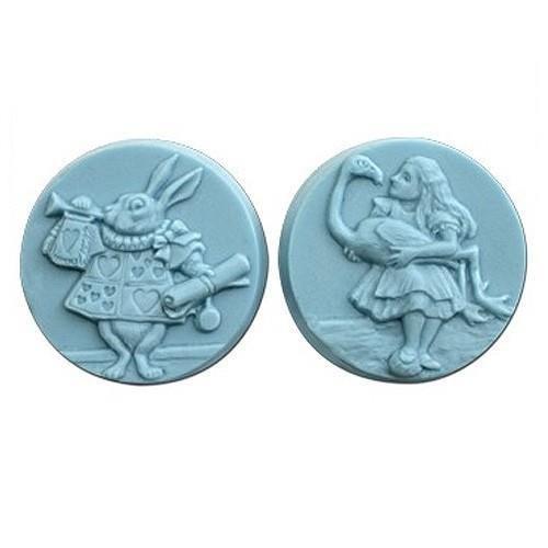 Molde para jabón Alicia en el País de las Maravillas 2   Moldes para jabones #moldes #jabones #alicia #maravillas #hacer #jabón
