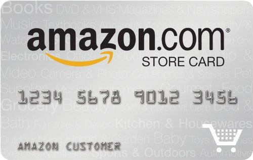 Amazon.com Store Card Amazon store card, Amazon credit card