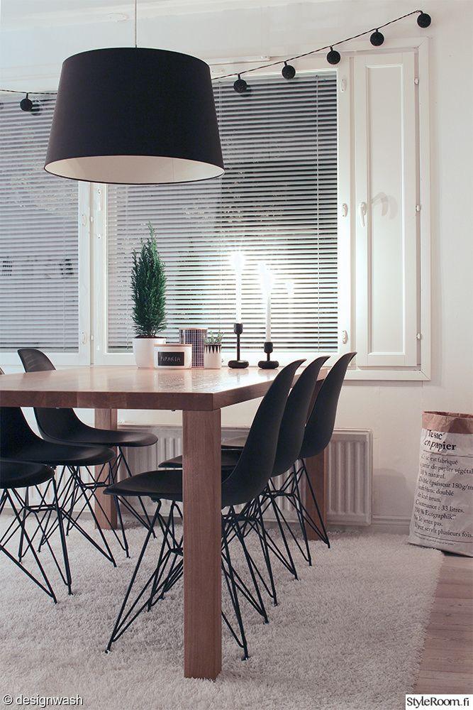 ruokalutila,ruokapöytä,ruokapöydän tuolit,ruokailuryhmä,matto,nukkamatto,kattovalaisin