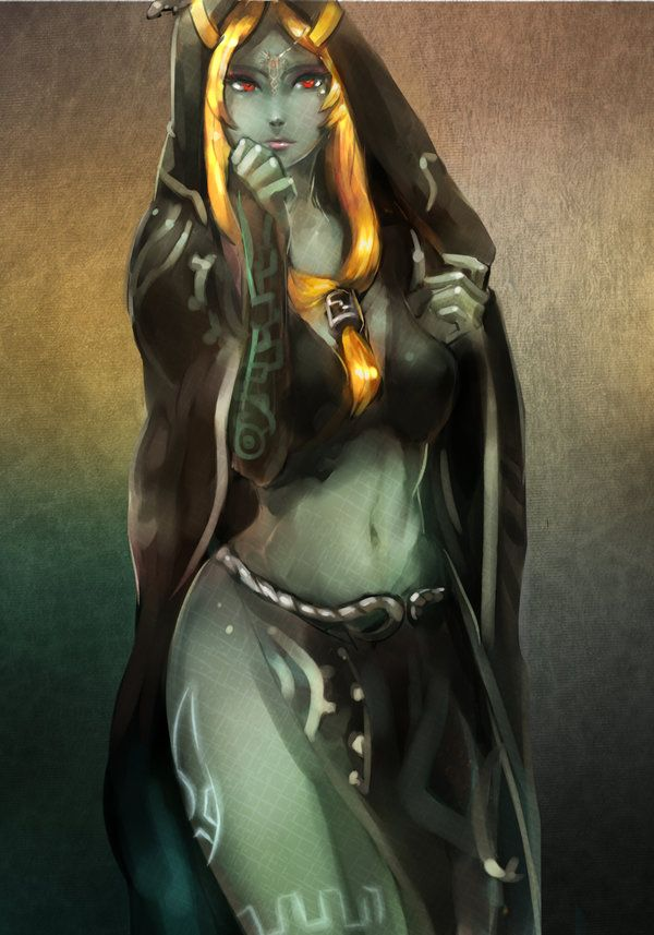 [LOZ] Midna's true form by Seuyan.deviantart.com on @DeviantArt