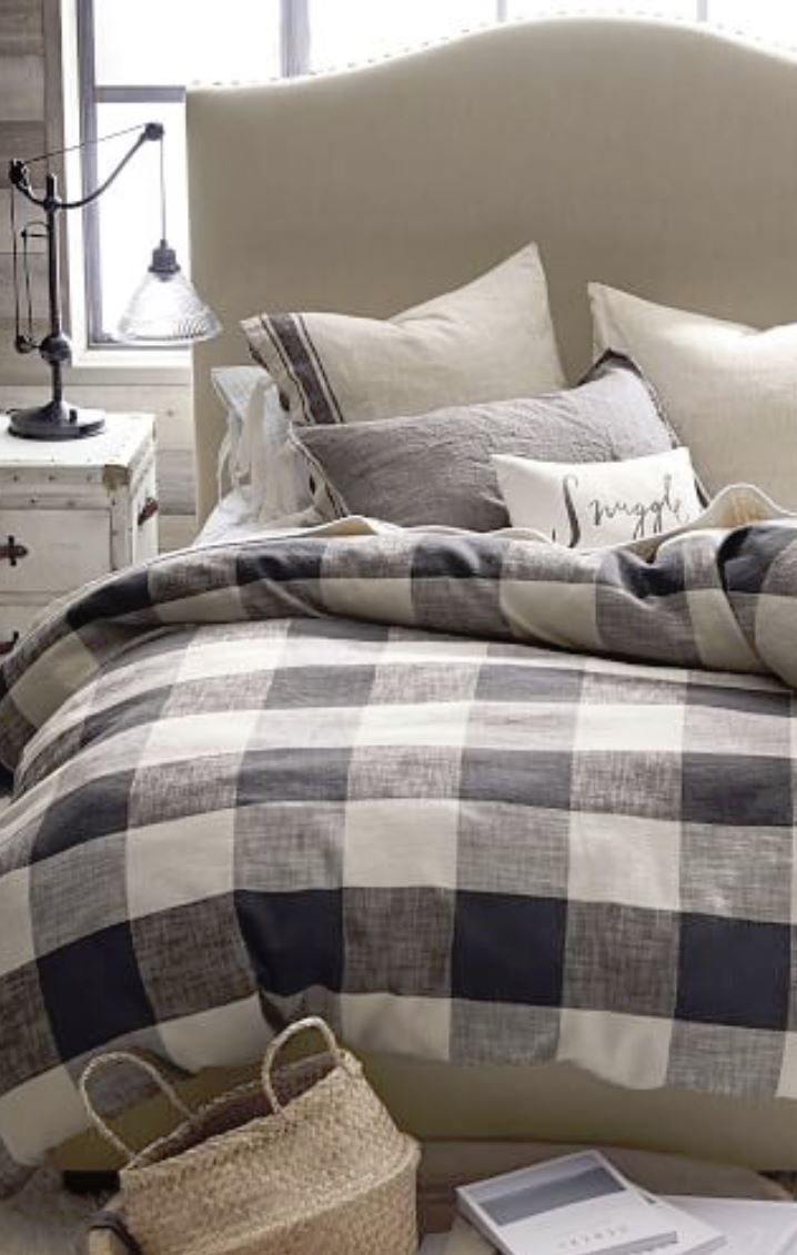 Bryce Buffalo Check Bed | Cozy and Bright Bedroom in 2019 ...