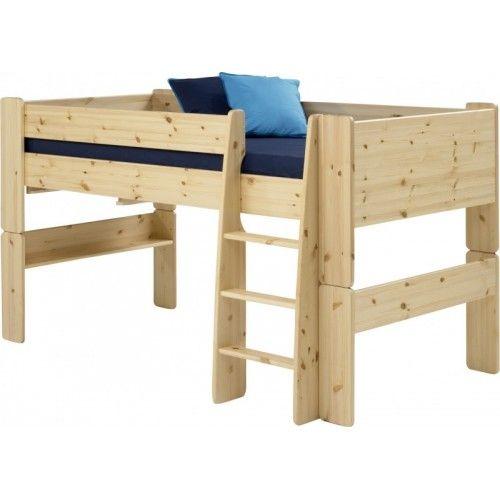 Steens Mid Sleeper In Pine - Steens For Kids Mid Sleeper In Pine