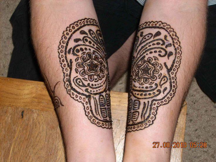 Skull Henna Tattoo: 53 Best Henna Tattoo Animal Skull Images On Pinterest
