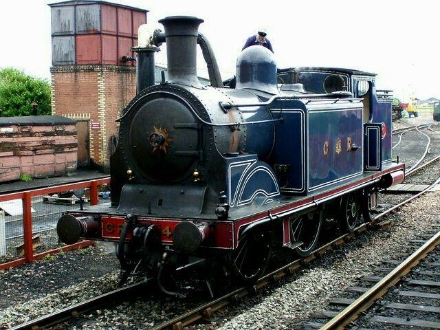Caledonian  Mcintosh 92 class  0-4-4T