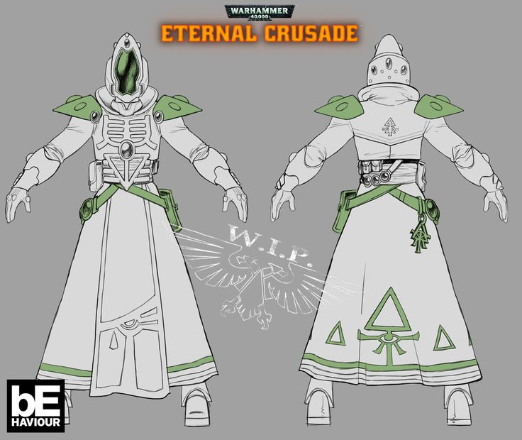 First look at Eternal Crusade's Eldar and the Warhammer MMO's future - PC Gamer
