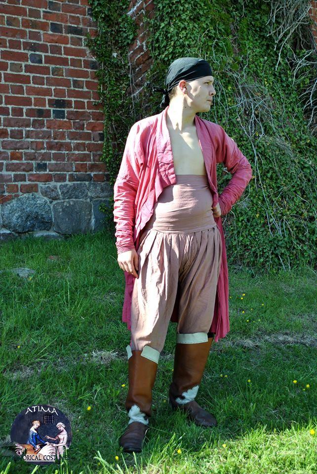 Jin Dynasty - Jurchen, silk trousers