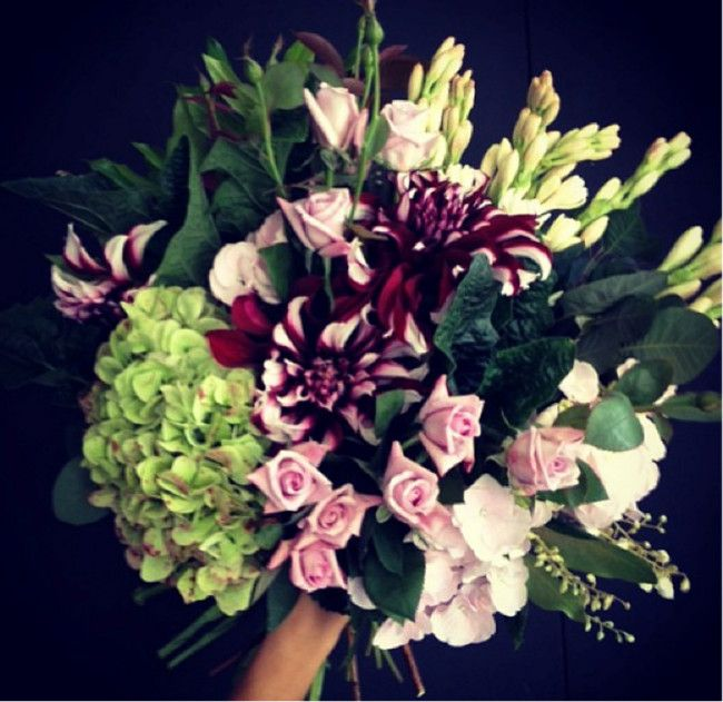 Vogues Guide To Valentines Day Blooms Dahlia
