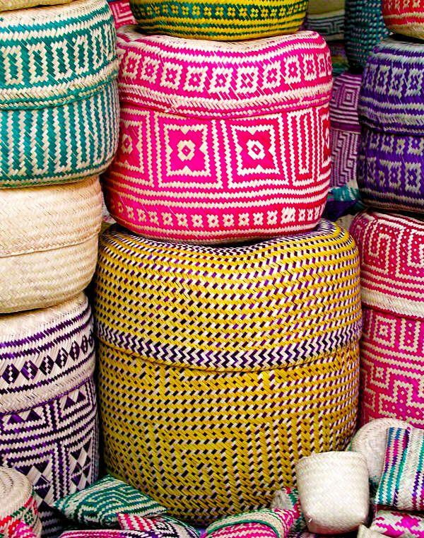 oaxaco baskets photo by w. john hayden
