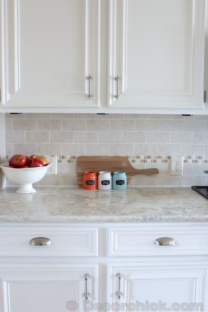 The Moment You've Been Waiting For...Our White Kitchen Makeover Reveal!! - Decorchick!
