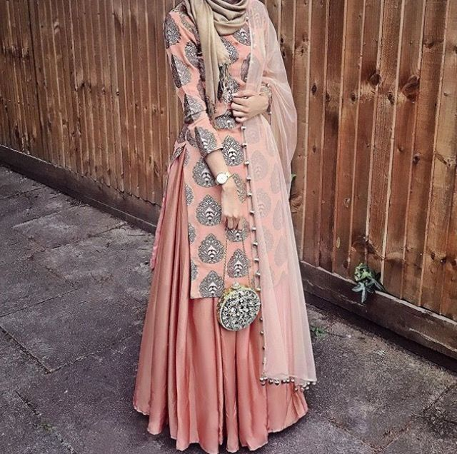 Beautiful desi-inspired outfit