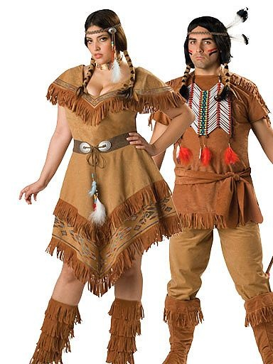 Indian Maiden Womans Couples Plus | Cheap Couples Halloween Costume for Women