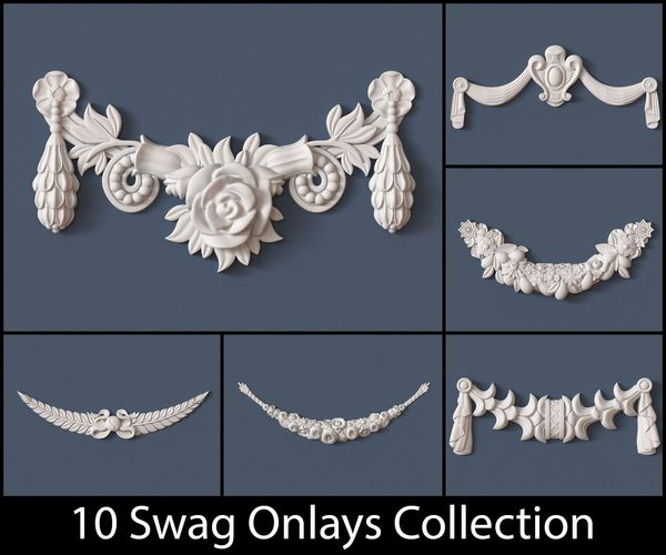 10 Swag Onlays Collection