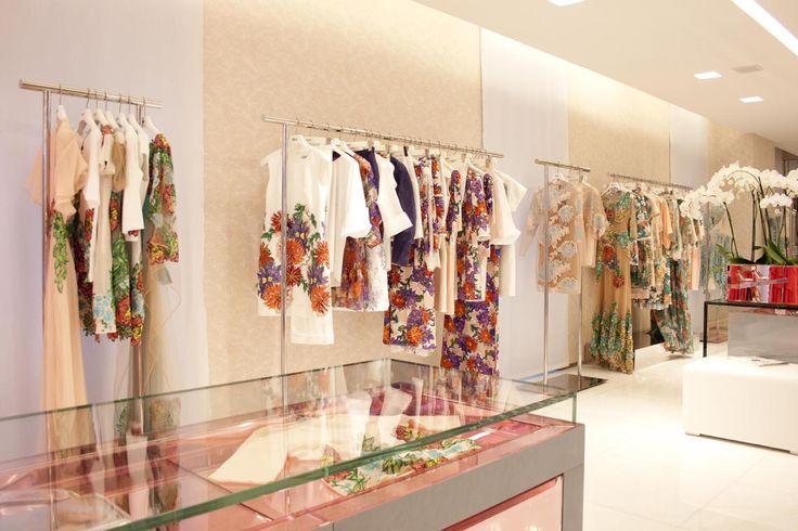 Blumarine Milan Boutique Windows - May 2015