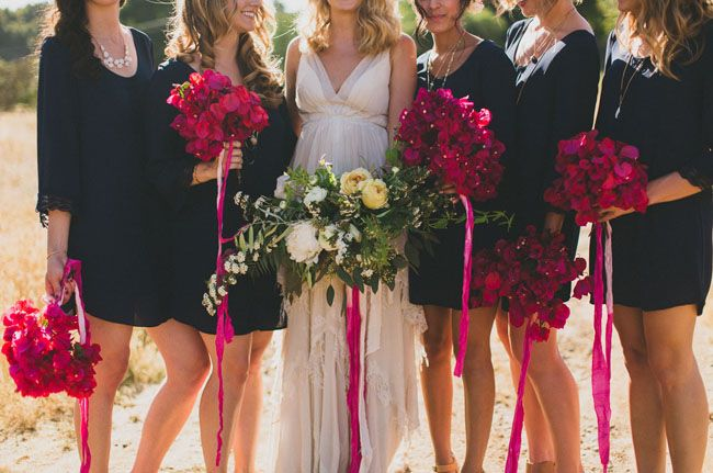 bougainvillea bridesmaids