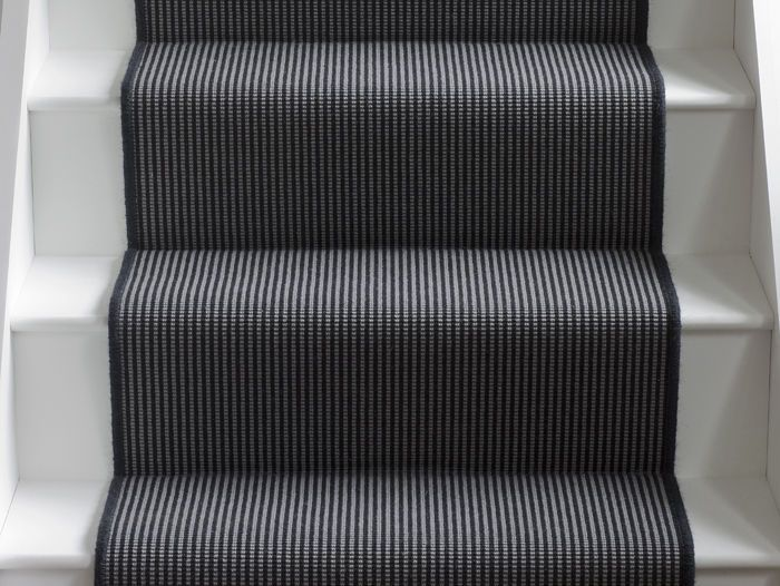 Wool Iconic Stripes Marley Runner: Alternative Flooring - carpets, rugs and runners in exciting new designs