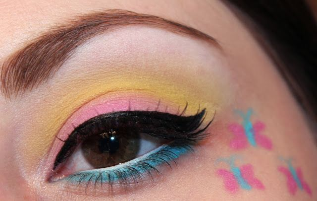 My Little Pony Inspired Makeup : Fluttershy - Luhivy's favorite things