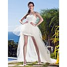 Two-In-One A-line Princess Sweetheart Floor-length Tulle Wedding Dress - USD $ 247.99