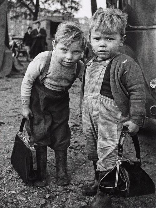unknown photographer, children of the Depression