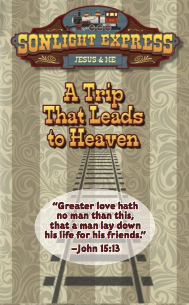 VBS Salvation Tract (Train Theme)