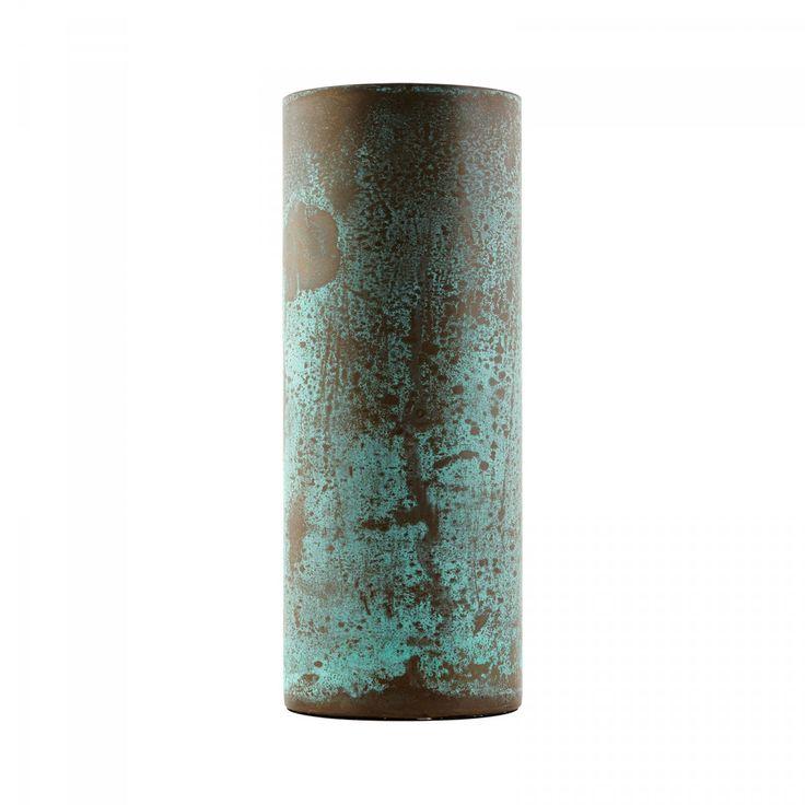 Green speckled Brass Vase | Home | Ohh Deer