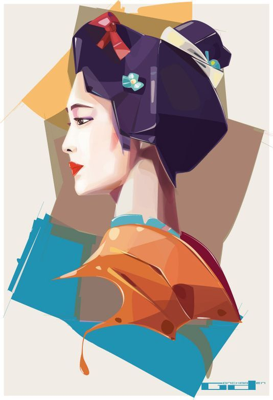 Various Commissions by Denis Gonchar, via Behance