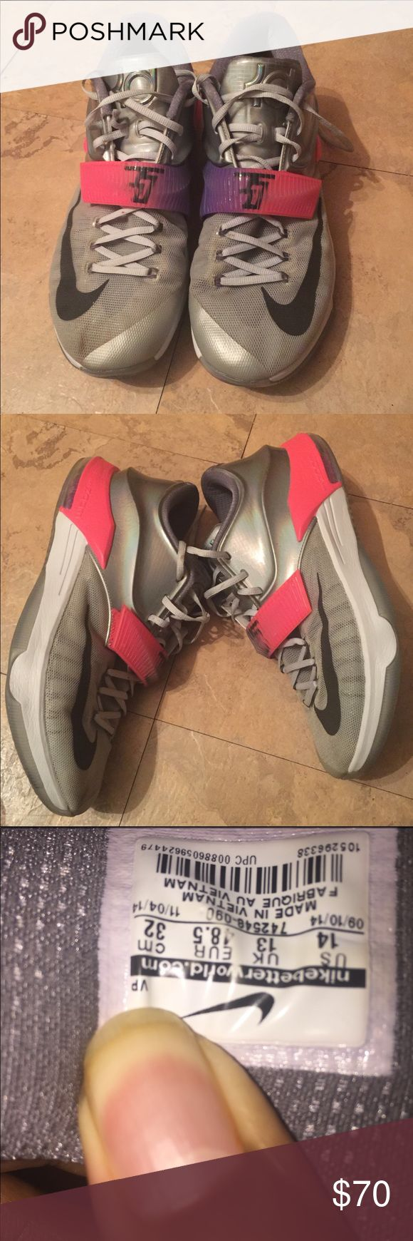 """Nike KD 7 """" All-Star """" They're in good condition Nike Shoes Athletic Shoes"""