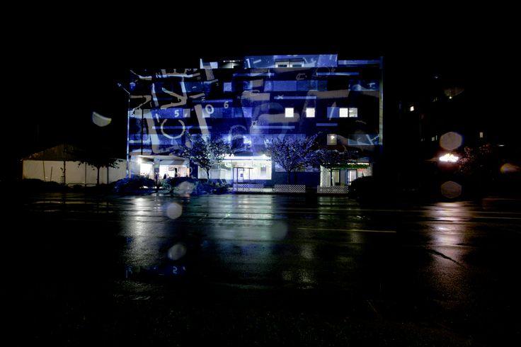 Lightpainting in Komarno