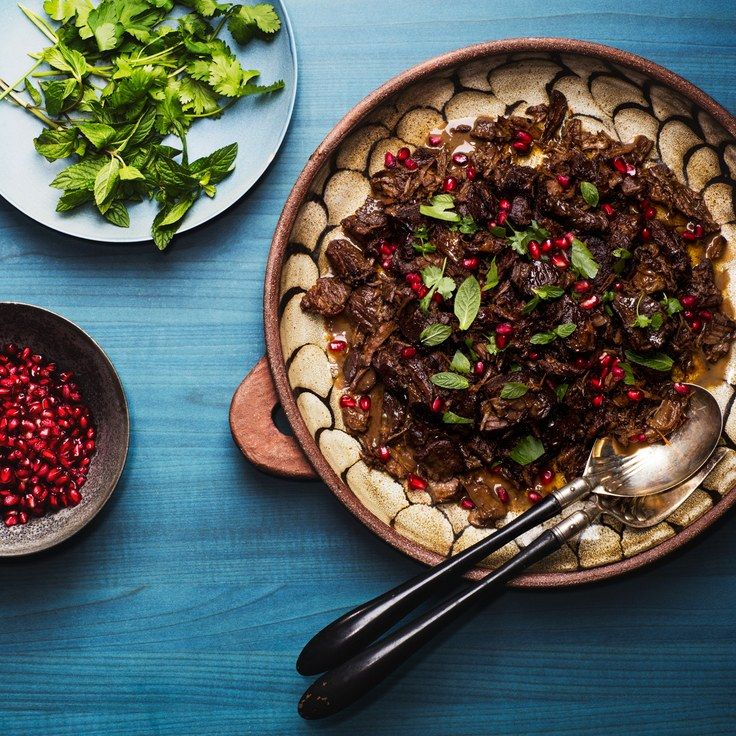 Easy Lamb Tagine With Pomegranate