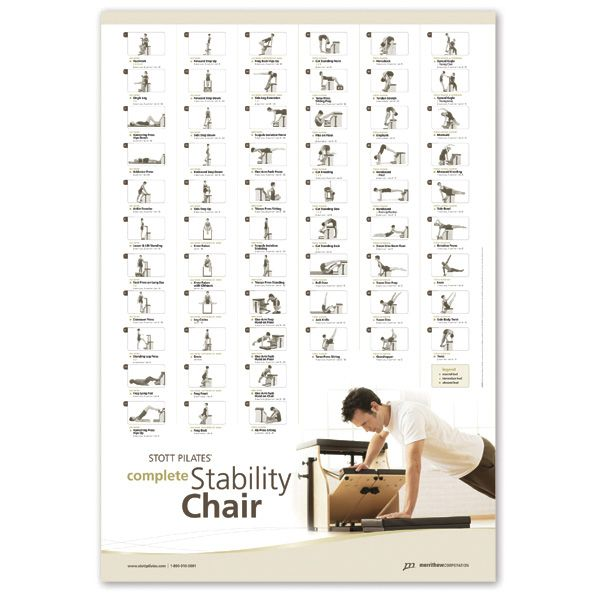 Pilates Mat Exercise Poster: Best 25+ Pilates Chair Ideas On Pinterest
