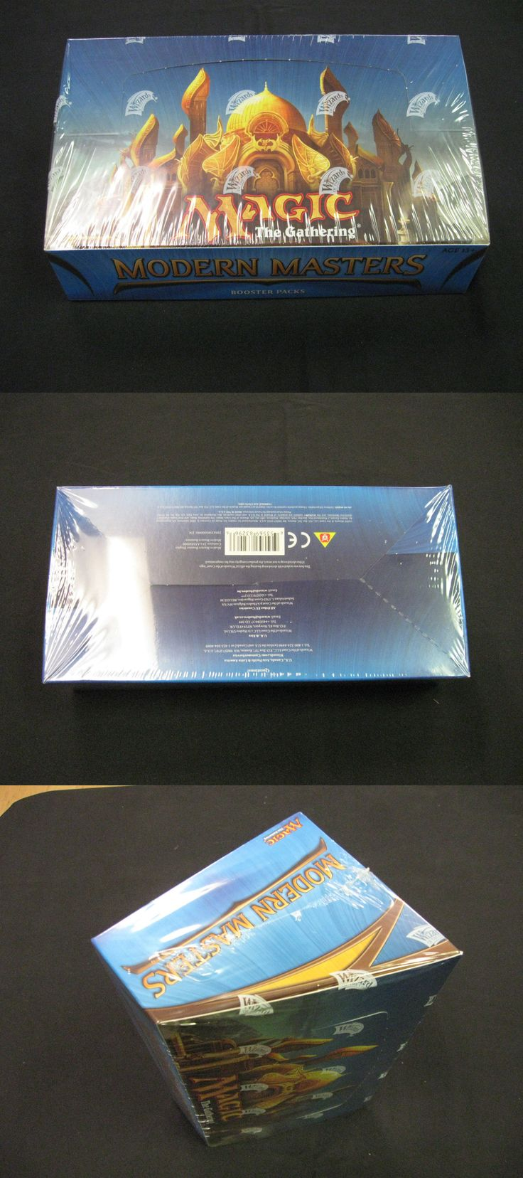 MTG Sealed Booster Packs 19109: Magic Mtg Modern Masters 2013 Booster Box Factory Sealed English -> BUY IT NOW ONLY: $434.99 on eBay!