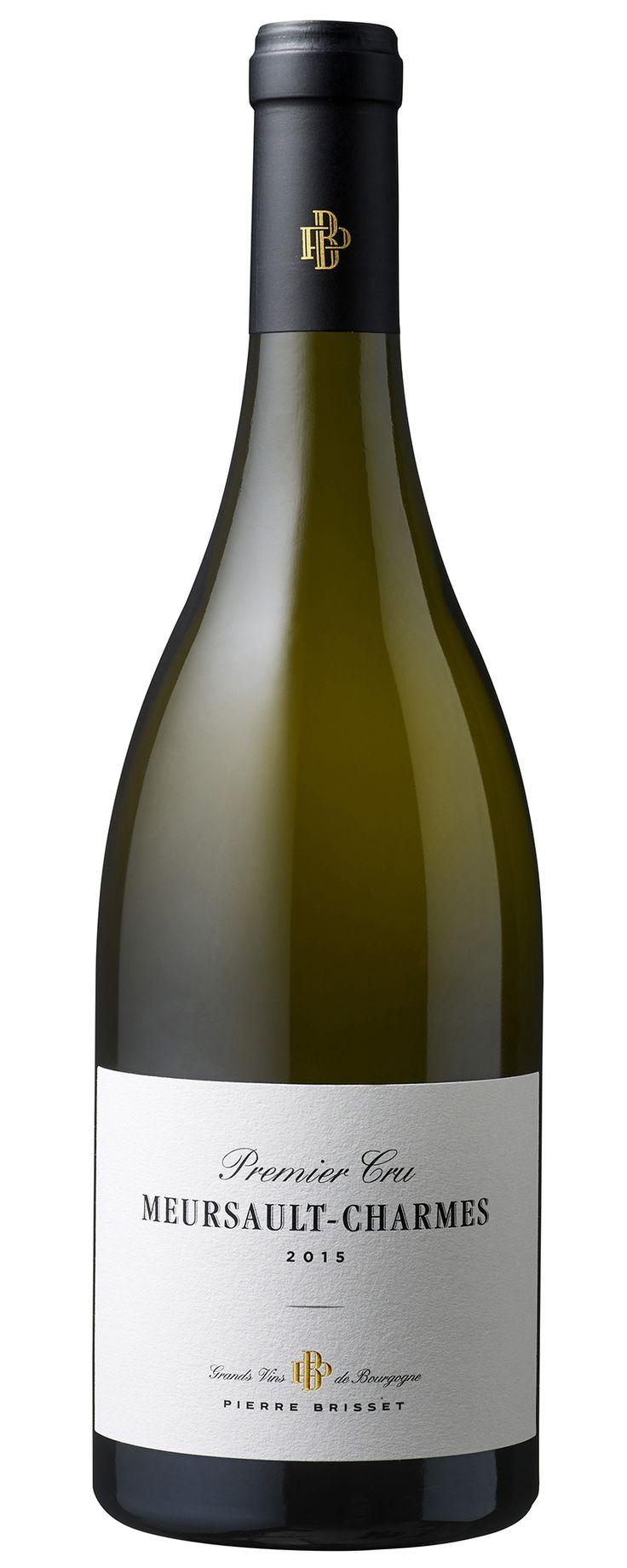 Meursault Premier Cru Charmes 2015 - Pierre Brisset - Grand Vin blanc de Bourgogne