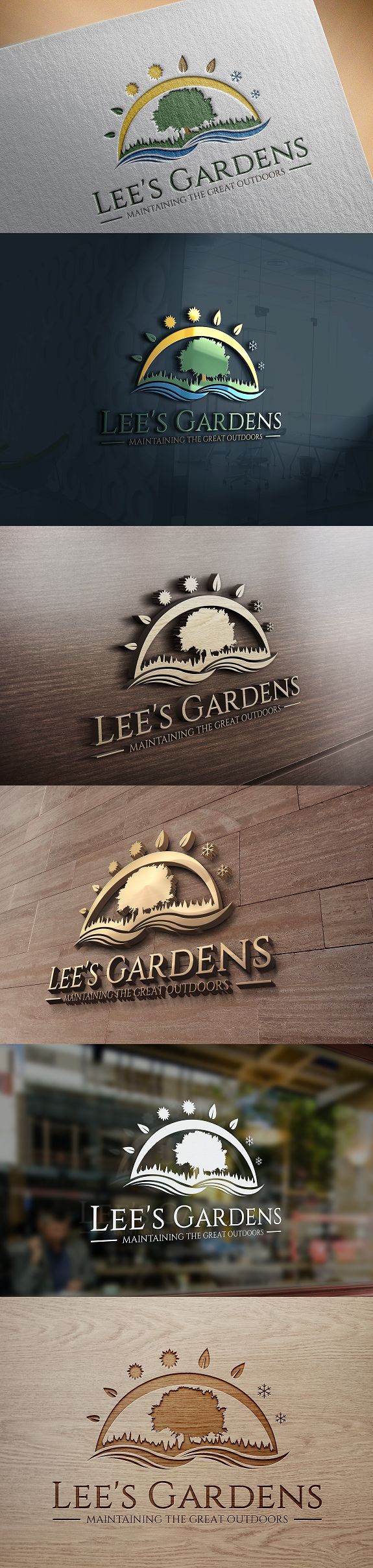 Design #57 by pinkywingky   Create logo for garden/grounds maintenance sole trader
