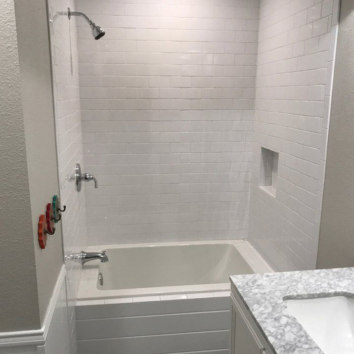 "48"" x 32"" Drop-In Soaking Bathtub | Small bathroom ..."