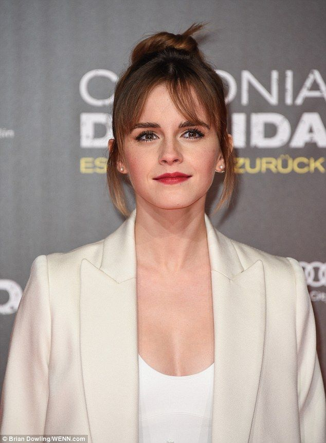 Emma Watson, 25, looked every inch the successful moviestar at the Berlin première of her latest film Colonia Dignidad inside the Potsdamer Platz.