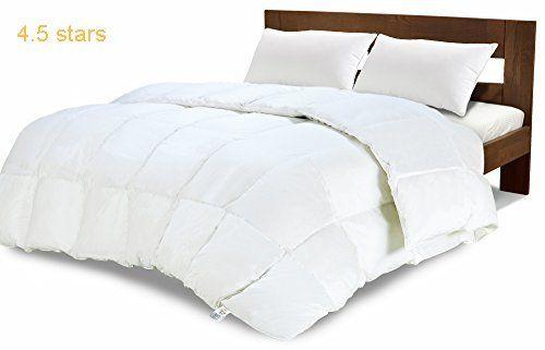 Equinox Comforter 350 Gsm White Alternative Goose Down