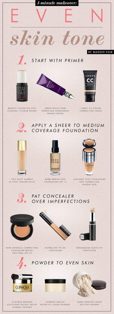 How to apply your makeup so you get an even complexion and full coverage!❤️ How to whiten Your skin Naturally, Natural White skin care..