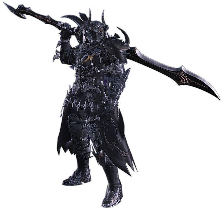 Dark Knight Render from Final Fantasy XIV: Stormblood