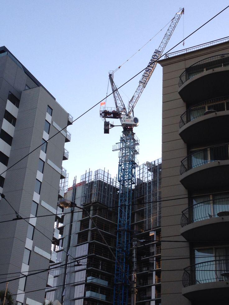 Crane on chapel street