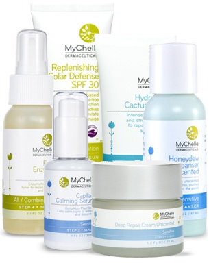 MyChelle Dermaceuticals Sensitive Skin Regimen - $139.99    Just bought one of these and they might be my new fav products. Gluten free!