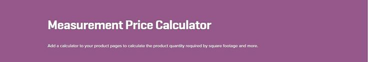 WooCommerce Measurement Price Calculator 3.10.2 Extension