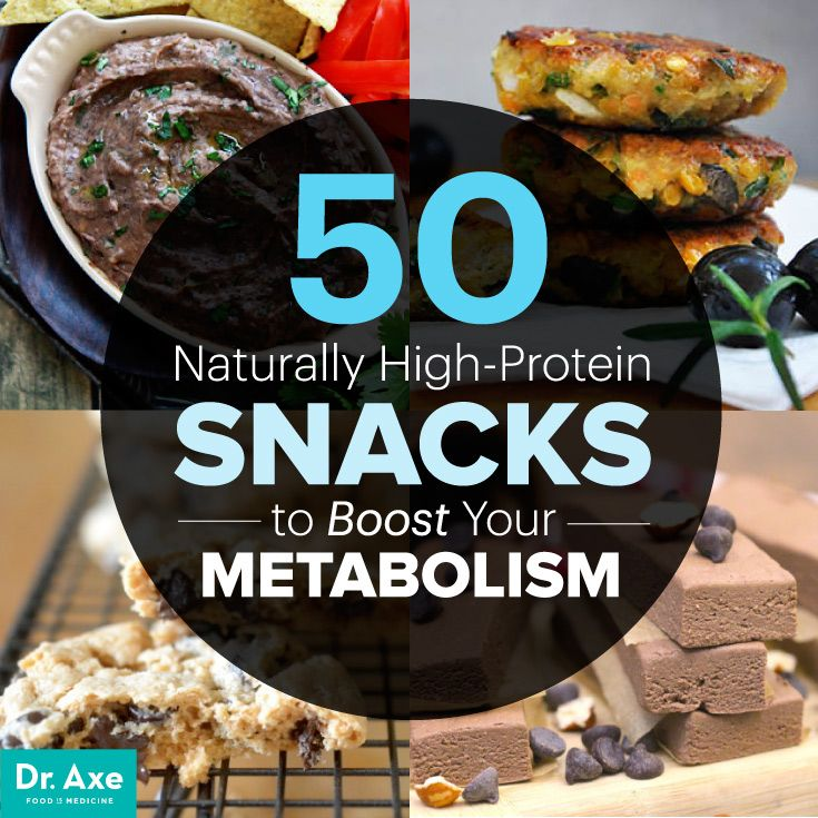 50 Naturally High Protein Snacks - Dr. Axe